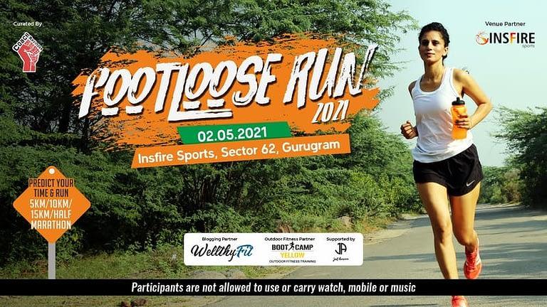 Footloose Run 2021 in Gurgaon