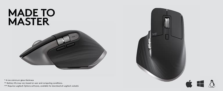 Logitech MX Master 3 Wireless Mouse Launched in India for ₹9,495