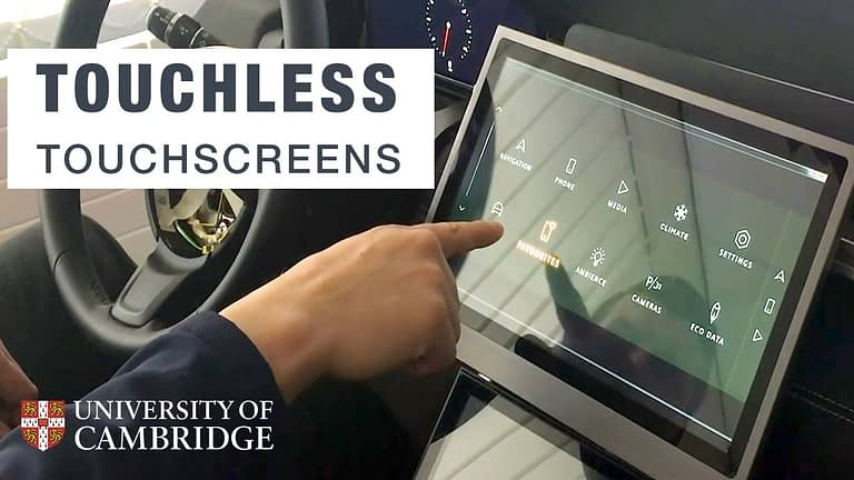 "Land Rover and Cambridge University Develop a ""No-Touch Touchscreen"" for Cars"