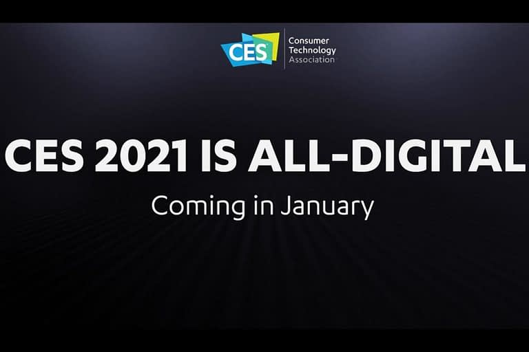 CES 2021 Will be Online-Only Because of COVID-19